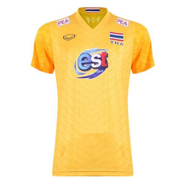 เสื้อวอลเลย์บอลทีมชาติชาย(สีเหลือง)รหัส:014299