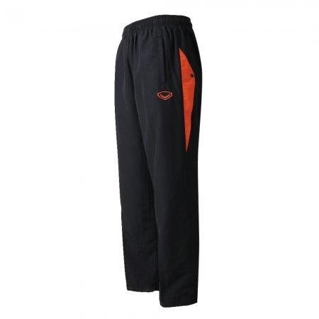 กางเกงแทร็คสูทแกรนด์สปอร์ต (สีดำส้ม) รหัสสินค้า : 010200