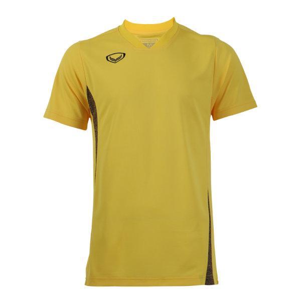 เสื้อกีฬาตัดต่อชายแกรนด์สปอร์ต (สีเหลือง)รหัส:014269