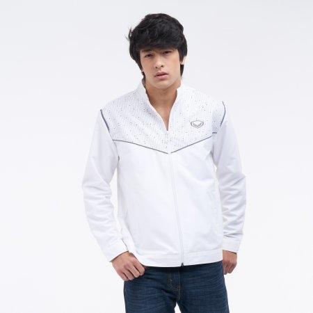 เสื้อแจ็คเก็ตแกรนด์สปอร์ต (สีขาว) รหัส : 020647