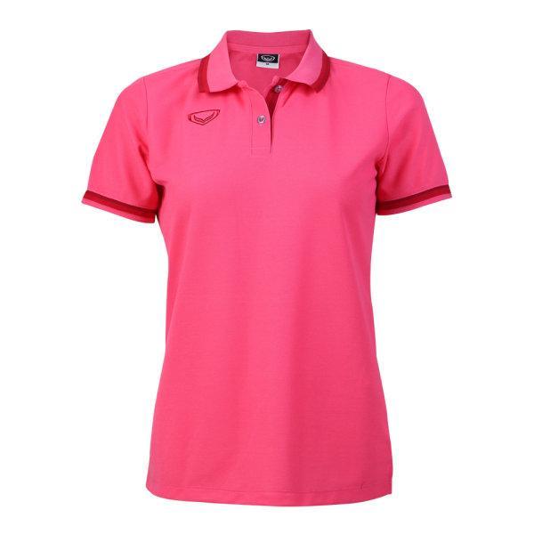 เสื้อโปโลหญิงแกรนด์สปอร์ต รหัสสินค้า : 012780 (สีบานเย็น)