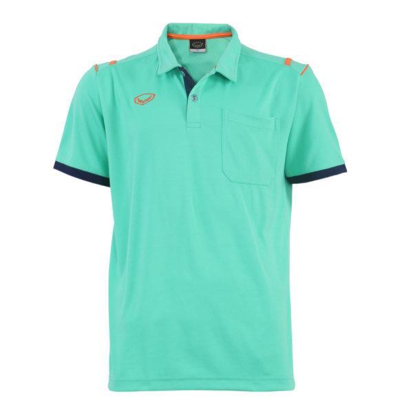 เสื้อโปโลชายแกรนด์สปอร์ต รหัสสินค้า : 012567 (สีเขียว)