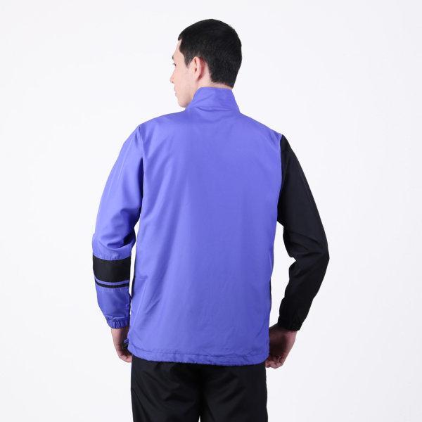 เสื้อแทร็คสูทแกรนด์สปอร์ต รหัสสินค้า : 020207 (สีม่วงดำ)