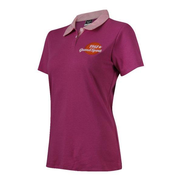 เสื้อคอปกแกรนด์สปอร์ต (สีชมพูกลีบบัว) รหัส : 028780