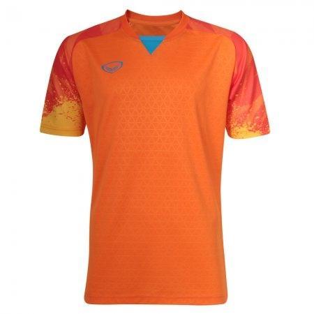 เสื้อฟุตบอลแกรนด์สปอร์ตรุ่น คาเมเลี่ยน(สีส้ม) รหัส:038300