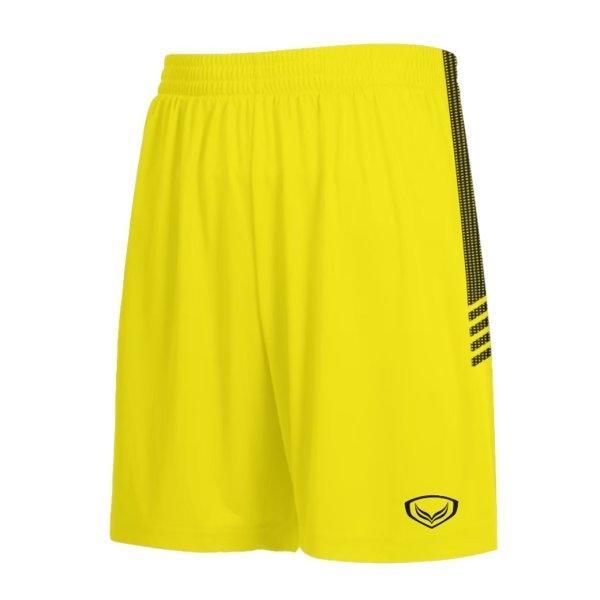 แกรนด์สปอร์ตกางเกงกีฬาฟุตบอล รหัสสินค้า:001465  (สีเหลือง)