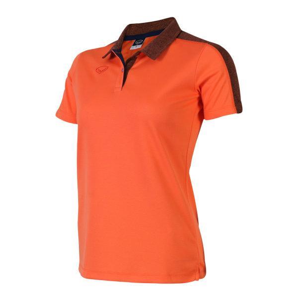 เสื้อโปโลหญิงแกรนด์สปอร์ต (สีส้ม)รหัสสินค้า : 012773