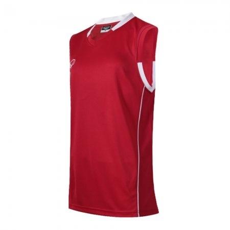 เสื้อบาสเกตบอลแกรนด์สปอร์ตหญิง(สีแดง)รหัส:013153