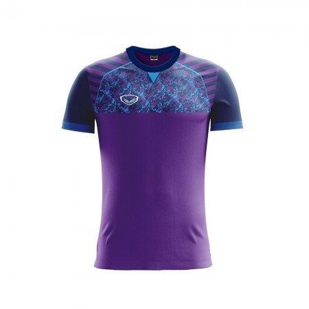 เสื้อฟุตบอลแกรนด์สปอร์ต  (สีม่วง) รหัส :011444