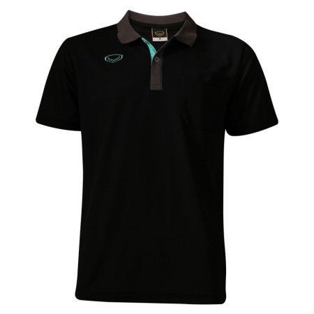 เสื้อโปโลสีดำแขนสั้น(ชาย) แกรนด์สปอร์ต รหัส: 012559
