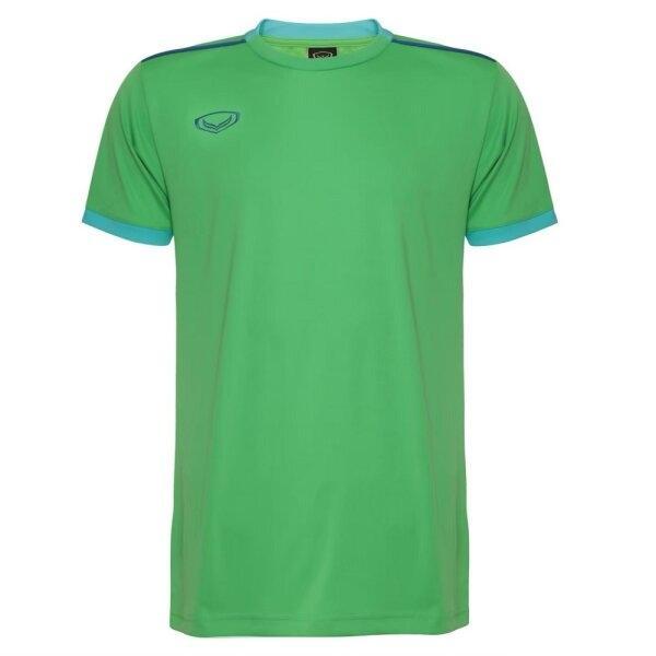 เสื้อกีฬาฟุตบอลตัดต่อ แกรนด์สปอร์ต  รหัสสินค้า : 011541 (สีเขียว)