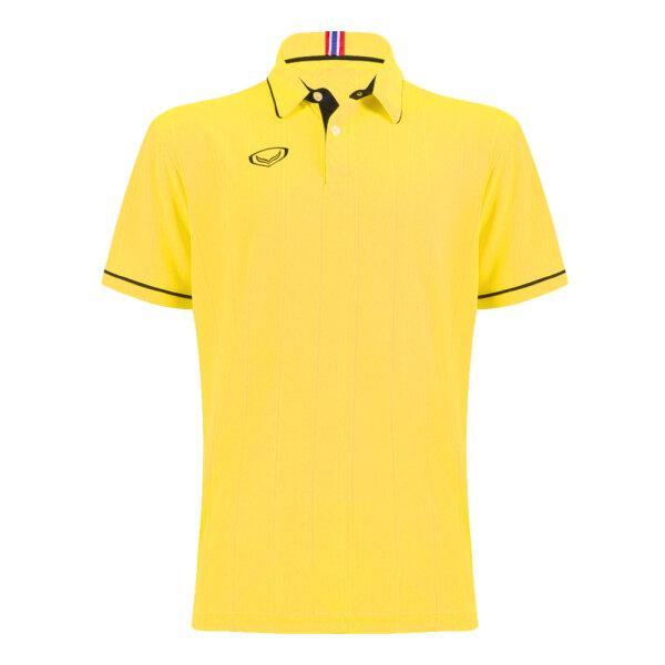 เสื้อคอปกแกรนด์สปอร์ต รหัส : 023183 (สีเหลือง)
