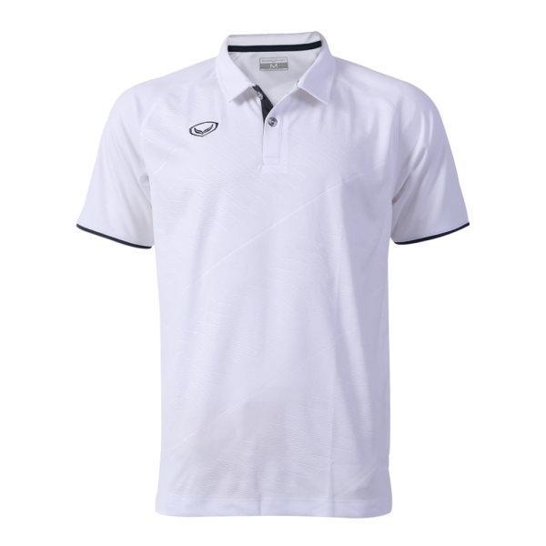 เสื้อโปโลแกรนด์สปอร์ต รหัสสินค้า : 072041 (สีขาว)