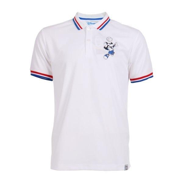 เสื้อโปโลชายปัก Mickey รหัส : 621014 (สีขาว)