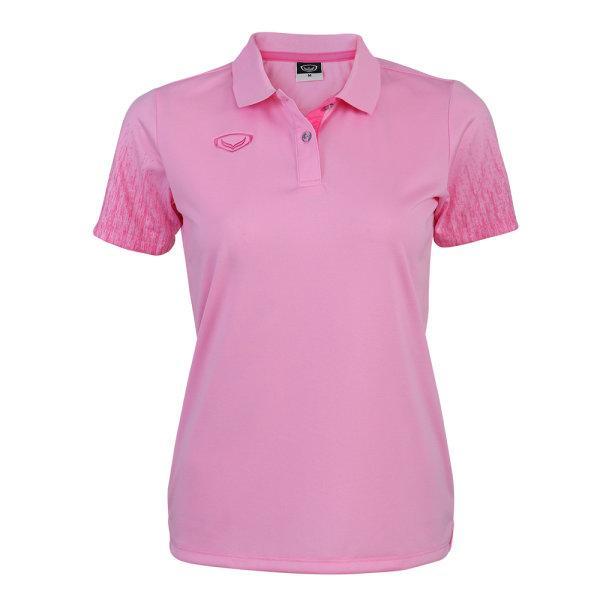 เสื้อโปโลหญิงแกรนด์สปอร์ต(สีชมพู) รหัส : 012763