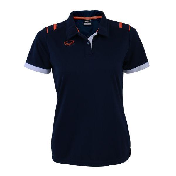 เสื้อโปโลหญิงแกรนด์สปอร์ต รหัส :012767 (สีกรม)