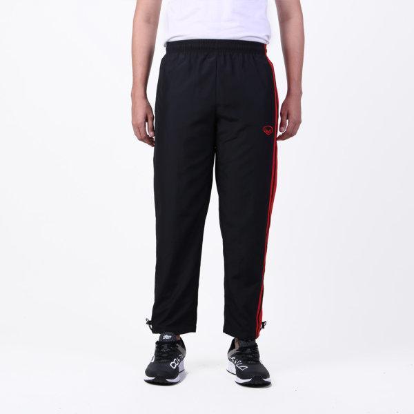 กางเกงแทร็คสูทแกรนด์สปอร์ต (สีดำแดง) รหัส: 010207