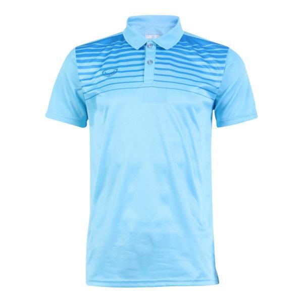 เสื้อโปโลแกรนด์สปอร์ต รหัสสินค้า : 072042 (สีฟ้า)