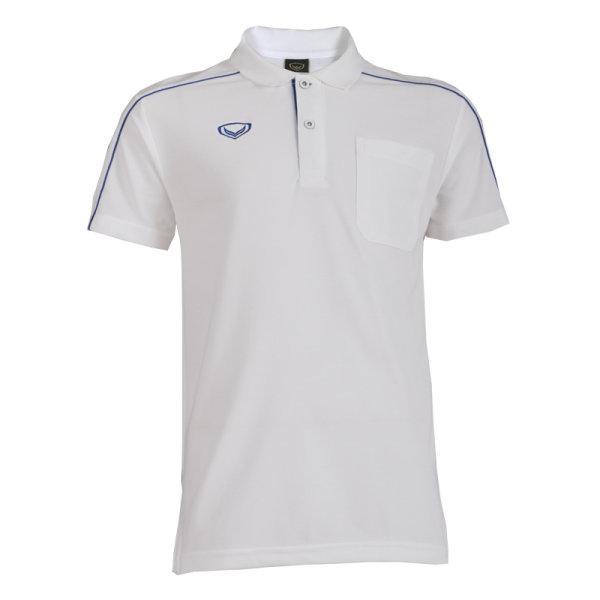 เสื้อโปโลชายแกรนด์สปอร์ต(สีขาว) รหัส: 012495