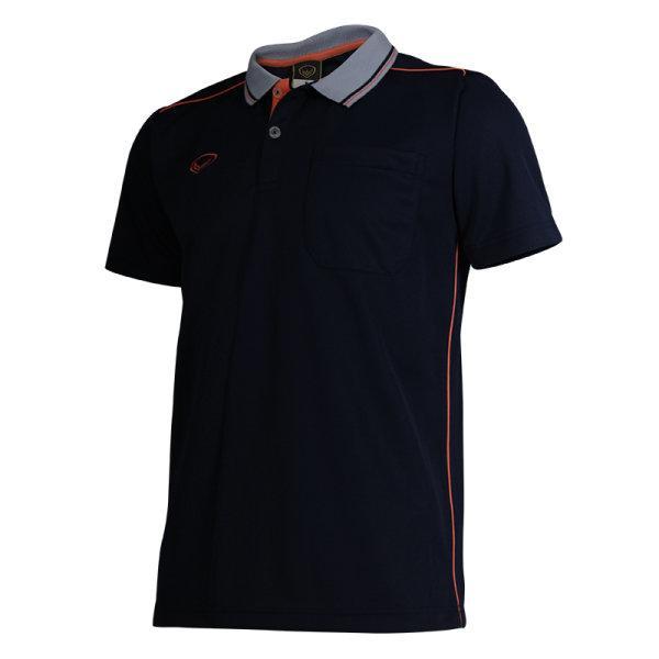 เสื้อโปโลชายแกรนด์สปอร์ต รหัส :012554 (สีกรม)