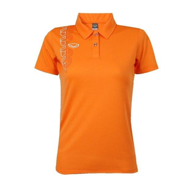 เสื้อโปโลหญิง แกรนด์สปอร์ต รหัส : 012783 (สีส้ม)