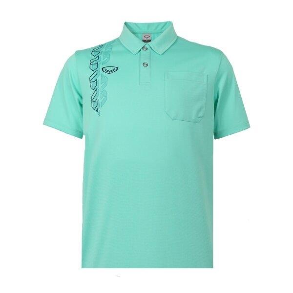 เสื้อโปโลชาย แกรนด์สปอร์ตรหัส : 012583 (สีเขียว)
