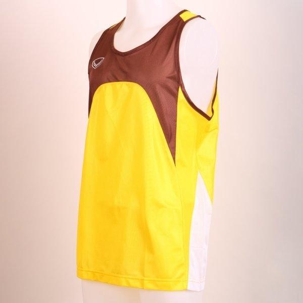 เสื้อกล้ามชายตัดต่อ รหัส : 017100 (สีเหลือง)