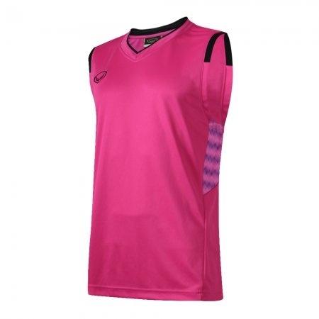 เสื้อบาสเกตบอลแกรนด์สปอร์ตชาย(สีบานเย็น)รหัส:013156