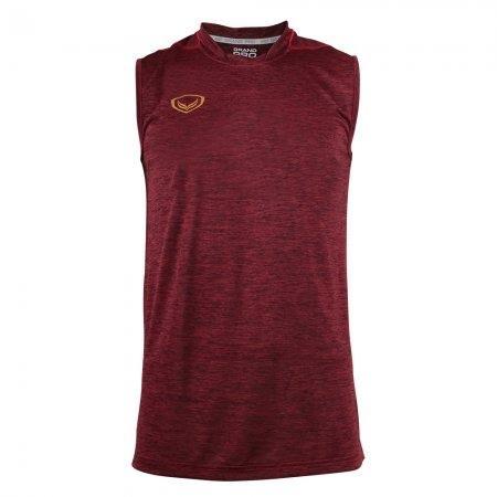 เสื้อกีฬาแขนกุด Grand pro (สีแดง) รหัส :038295