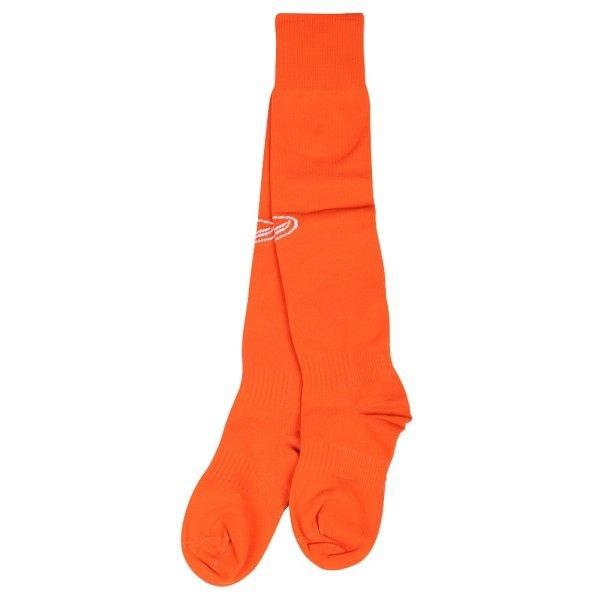 ถุงเท้าฟุตบอลสีล้วน รหัส :025090 (สีส้ม)