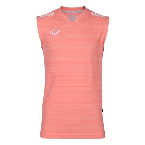 เสื้อกีฬา Grand pro รหัส :038326 (สีส้ม)