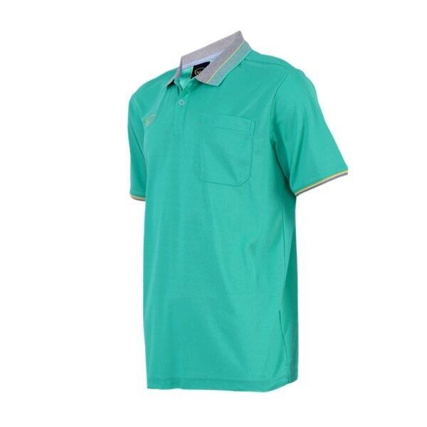 เสื้อโปโลชายสีเขียว  แกรนด์สปอร์ต รหัส :012568