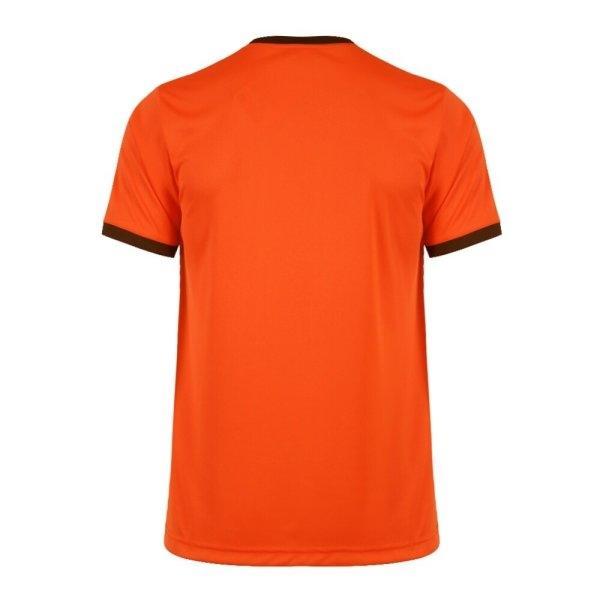 แกรนด์สปอร์ตเสื้อกีฬาฟุตบอล รหัสสินค้า : 011464 (สีส้ม)