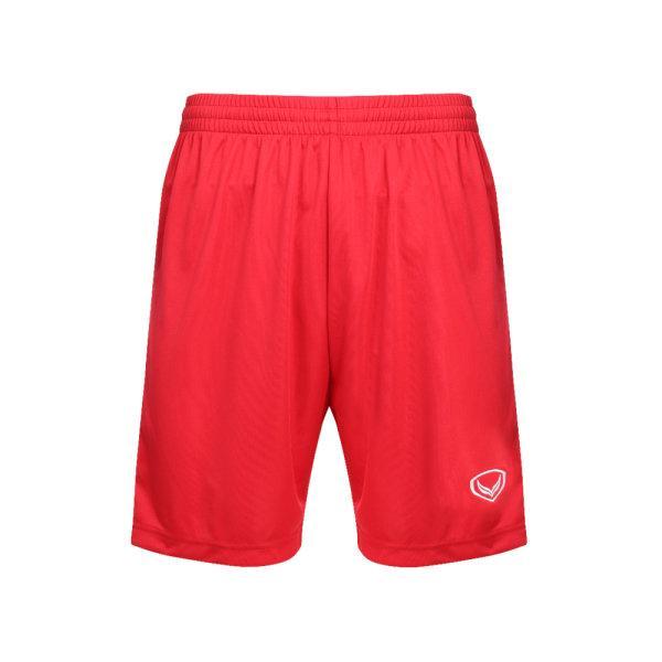 กางเกงกีฬาฟุตบอลตัดต่อ แกรนด์สปอร์ต รหัสสินค้า:001456  (สีแดง)