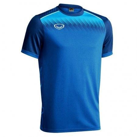 เสื้อกีฬาฟุตบอล แกรนด์สปอร์ต(สีน้ำเงิน) รหัส :011456