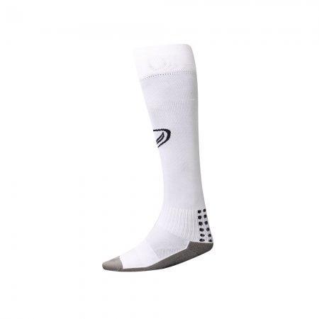 ถุงเท้ากีฬากันลื่นแบบยาว2018(สีขาว) รหัส:025119