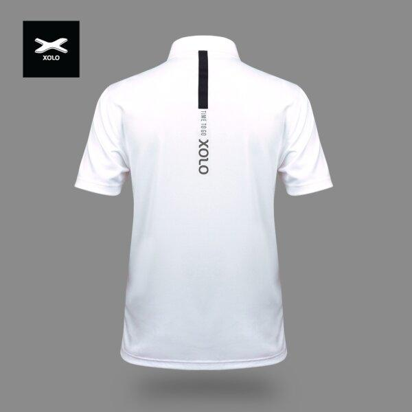 XOLO MORNING SUNLIGHT POLO SHIRT ( Anti-bacterial ) CODE : 040029 (ฺWhite)