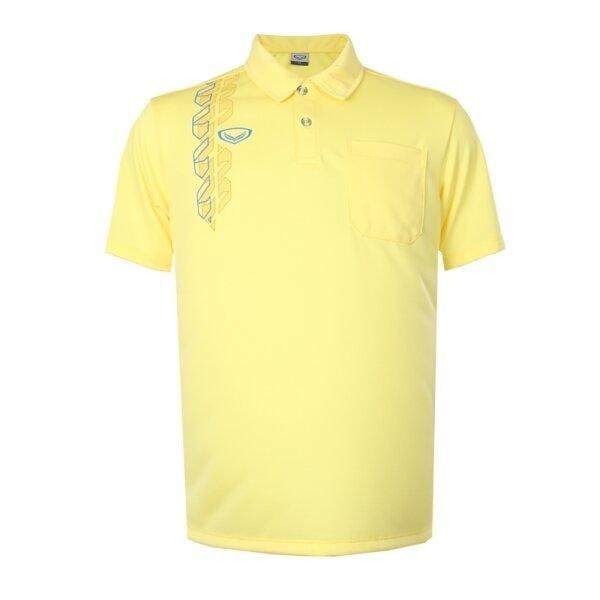 เสื้อโปโลชาย แกรนด์สปอร์ต รหัส : 012583 (สีเหลือง)