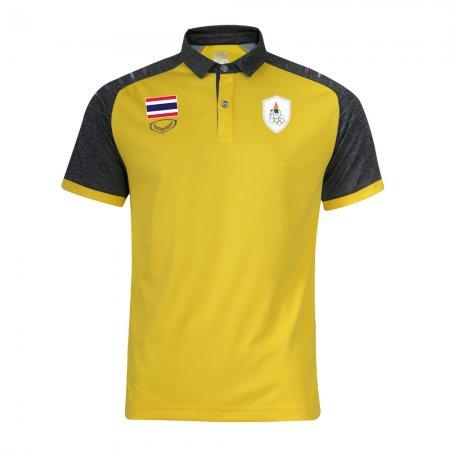 เสื้อโปโลทีมชาติไทย เอเชียนเกมส์ 2018(สีเหลือง) รหัส :012235