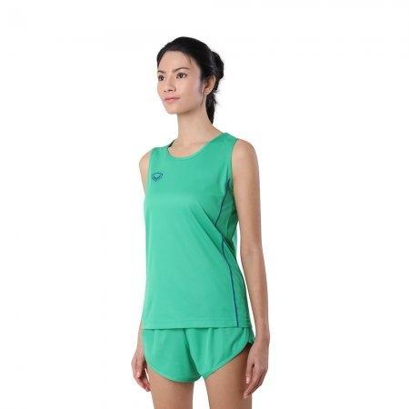 เสื้อวิ่งหญิงกุ้นด้านข้าง (Grand Sport RUNNING) รหัส: 017128 (สีเขียว)