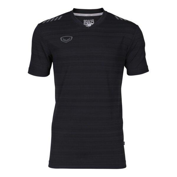 เสื้อกีฬา Grand pro รหัส : 038325 (สีดำ)