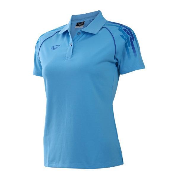 เสื้อคอปกหญิง แกรนด์สปอร์ต (สีฟ้า) รหัส :012696