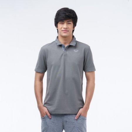 เสื้อโปโลแกรนด์สปอร์ต (สีเทา)รหัสสินค้า : 012228