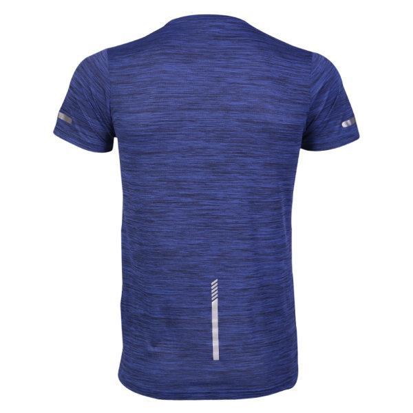 เสื้อวิ่งแขนสั้น แกรนด์สปอร์ต รหัส : 017140 (สีน้ำเงิน)