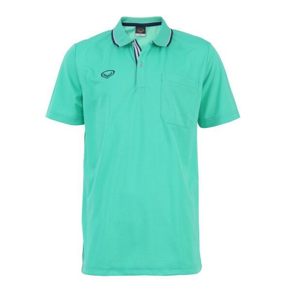 เสื้อโปโลชายแกรนด์สปอร์ต รหัส :012569 (สีเขียว)