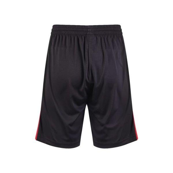 กางเกงกีฬาฟุตบอล แกรนด์สปอร์ต รหัส : 001543 (สีดำ-แดง)