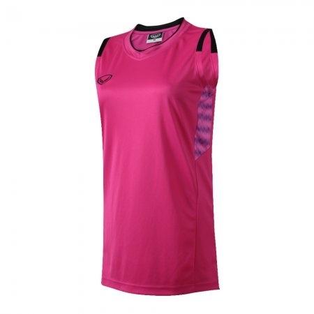 เสื้อบาสเกตบอลแกรนด์สปอร์ตหญิง(สีบานเย็น)รหัส:013157