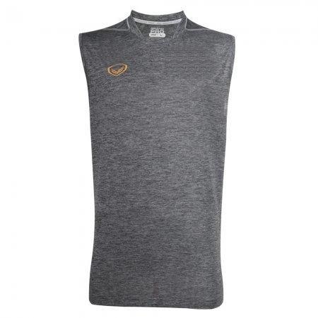 เสื้อกีฬาแขนกุด Grand pro (สีเทา) รหัส :038295