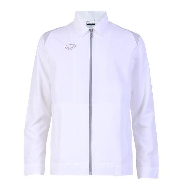 แกรนด์สปอร์ตเสื้อแจ็คเก็ต  (สีขาว) รหัสสินค้า : 020656