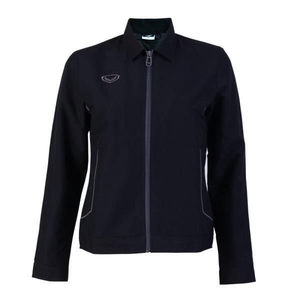 เสื้อแจ็คเก็ตหญิง แกรนด์สปอร์ต รหัส : 020654 (สีดำ)